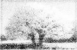 abc δέντρο τοπίων τύπων χαρακτή&rh Στοκ Εικόνες