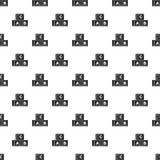 ABC κυβίζει το διάνυσμα σχεδίων Στοκ φωτογραφία με δικαίωμα ελεύθερης χρήσης