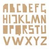 ABC картона вектора Стоковое Фото