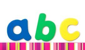 ABC Lizenzfreies Stockbild