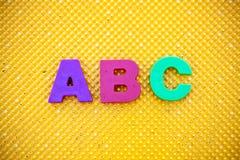 ABC Fotografie Stock Libere da Diritti