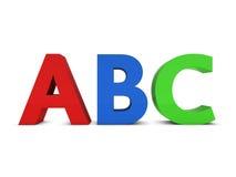 abc Διανυσματική απεικόνιση