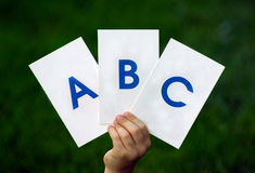 ABC Stockbild