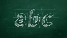 ABC stock de ilustración