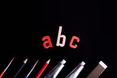 ABC! Stockfotos