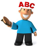 Abc. Learning for children, school teaching Royalty Free Stock Images
