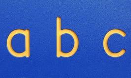 ABC Fotos de archivo libres de regalías