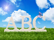 ABC Foto de Stock Royalty Free