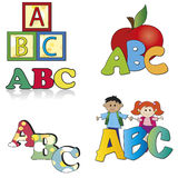 Abc Vector Illustratie