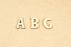 ABC Royaltyfria Bilder
