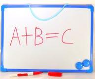 ABC 3 Foto de archivo libre de regalías