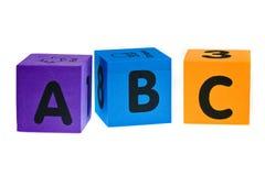ABC royalty free stock photos