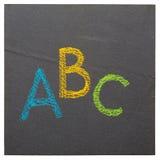 The ABC Stock Photo