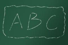 ABC Fotos de archivo