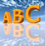 ABC Stockfoto