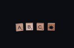 ABC Стоковое Изображение RF