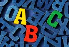 ABC Image libre de droits