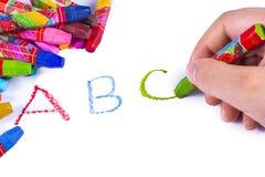 ABC Fotografía de archivo libre de regalías