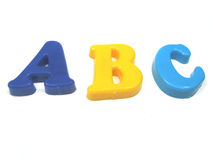 ABC Imagenes de archivo
