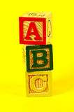 abc Royaltyfri Foto