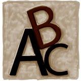 abc Стоковое Изображение