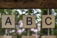 ABC Obraz Stock