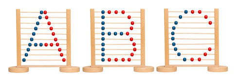 ABC Abacus Stock Photography