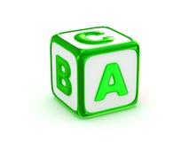 ABC-alfabet Royalty-vrije Stock Foto's