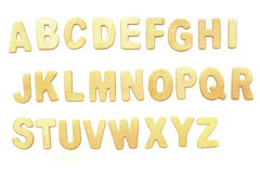 abc-alfabetet letters det mekaniska setschemat Royaltyfria Bilder