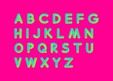 abc-alfabetet letters det mekaniska setschemat vektor för illustration 3d bakgrundsdesignelement fyra vita snowflakes Vektor Illustrationer