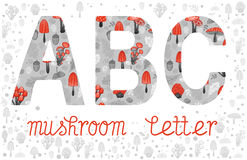 ABC, alfabeto ilustración del vector