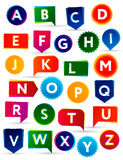 ABC Alfabeto colorido Fotografia de Stock Royalty Free