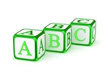 ABC-Alphabet Lizenzfreie Stockfotos