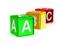ABC alphabet. Royalty Free Stock Photos
