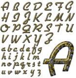 ABC Alphabet special design. Alphabet Lettering for design project royalty free illustration