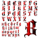 ABC Alphabet special design set Royalty Free Stock Image