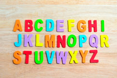 ABC alphabets Stock Image