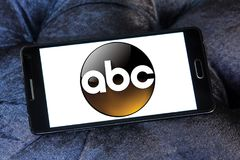 ABC , American Broadcasting Company logo. Logo of ABC , American Broadcasting Company on samsung mobile. ABC television network is an American English language royalty free illustration
