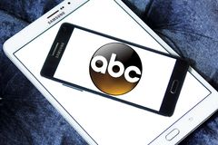 ABC , American Broadcasting Company logo. Logo of ABC , American Broadcasting Company on samsung mobile. ABC television network is an American English language stock illustration
