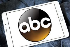 ABC, amerikanisches Fernsehsenderlogo Stockbilder