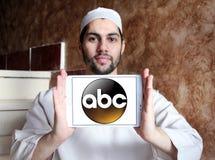 ABC, amerikanisches Fernsehsenderlogo Lizenzfreies Stockfoto