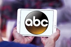 ABC, amerikanisches Fernsehsenderlogo Stockfotos