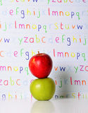 ABC Apples Stock Photos