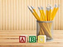 Abc. Background game educational baby fun alphabet stock image