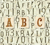 ABC background. Seamless background with letters . Linux Libertine fonts used in the image ( GPL  and OFL license Royalty Free Stock Photo