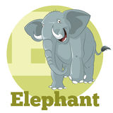 ABC-Beeldverhaal Elephant3 vector illustratie