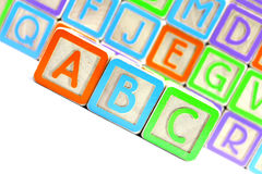 ABC Blocks Royalty Free Stock Image