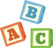 ABC Blocks Stock Photography