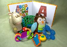 Abc-bok Fotografering för Bildbyråer