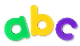 abc-bokstäver Royaltyfria Foton